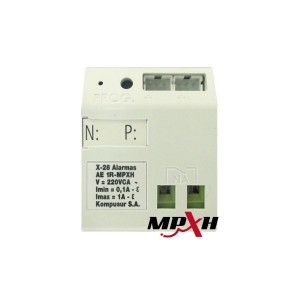 AE 1R MPXH Modulo control disp. Electricos Tipo on/off 1 Salidas a Rele 8A.