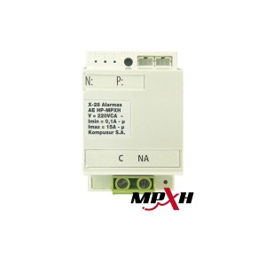 AE 1H NPXH Modulo control disp. Electricos Tipo on/off 1 Salidas a Rele 15A.