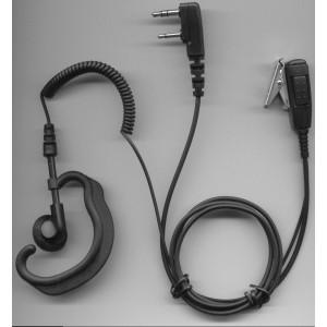 Auricular robusto con microfono solapero