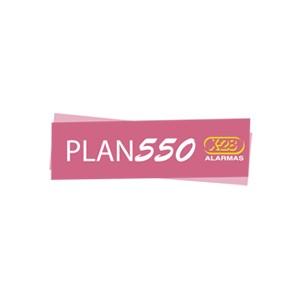 Plan Monitoreo 550, precio mensual